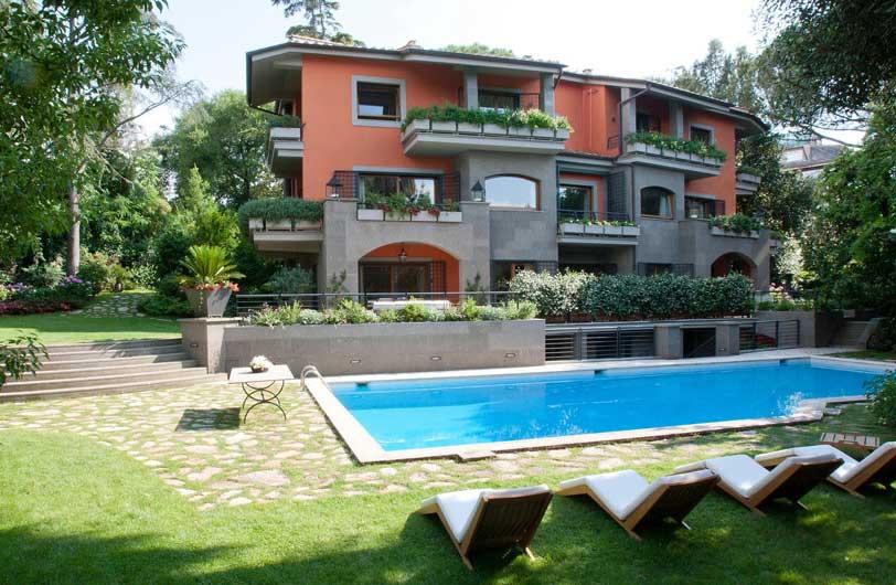Vendita residenza di lusso a roma villa camilluccia for Planimetrie di lusso