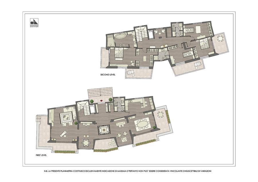 Planimetrie appartamenti di lusso wx22 regardsdefemmes for Planimetrie di lusso a schiera