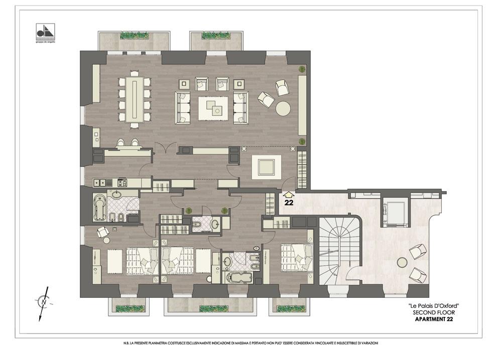 abbastanza Palais d'Oxford - Vendita Appartamenti di prestigio | Gruppo De  TT52