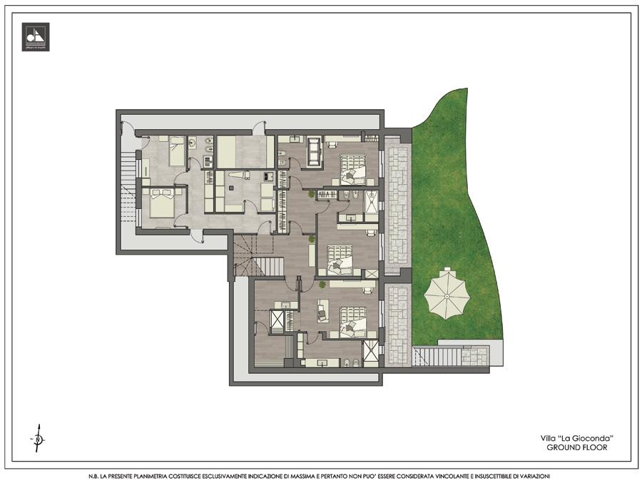 Ground floor - Вилла La Gioconda
