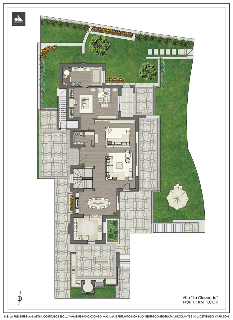 North first floor - فيلا لا جوكوندا