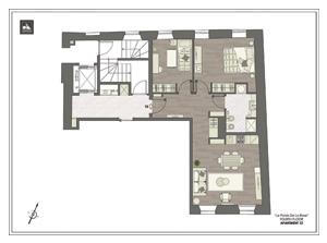 Palais de La Rose - Apartment no. 12