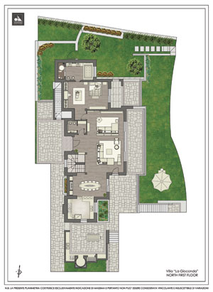 First floor - Вилла La Gioconda